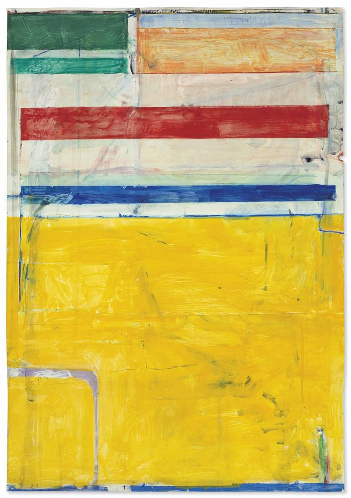 Richard Diebenkorn-Untitled-1984