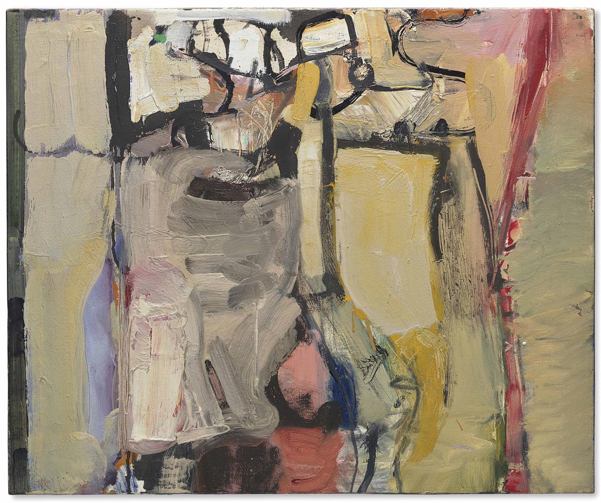 Richard Diebenkorn-Berkeley #25-1954