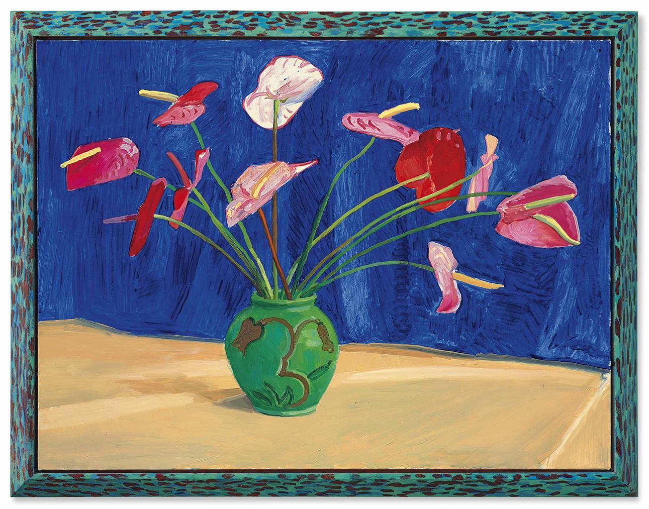 David Hockney-Antheriums-1995