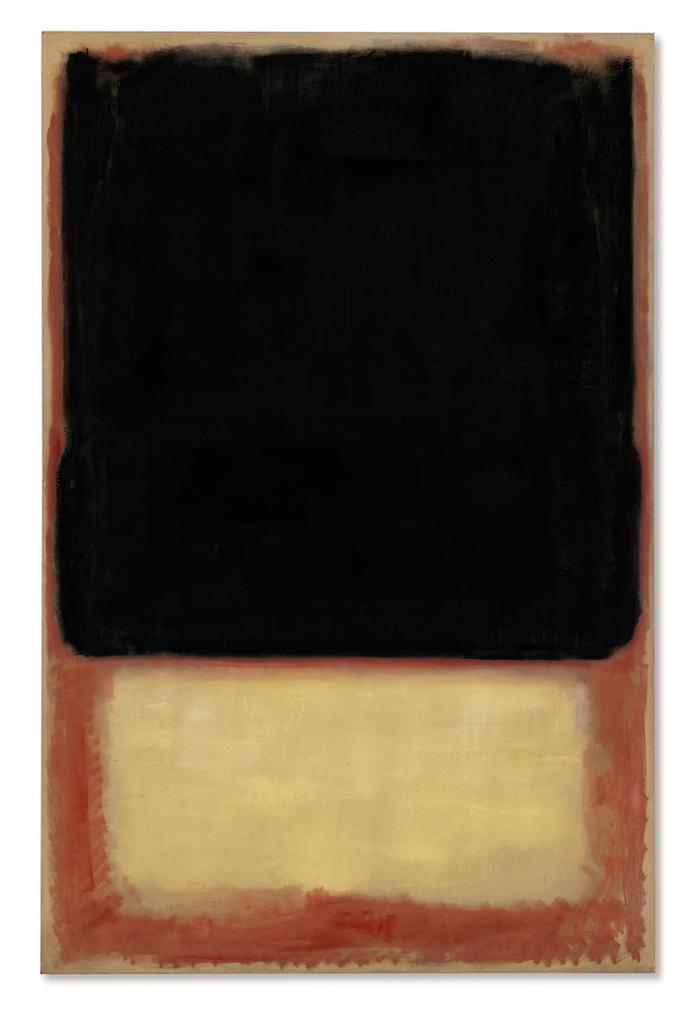 Mark Rothko-No. 7 (Dark Over Light)-1954