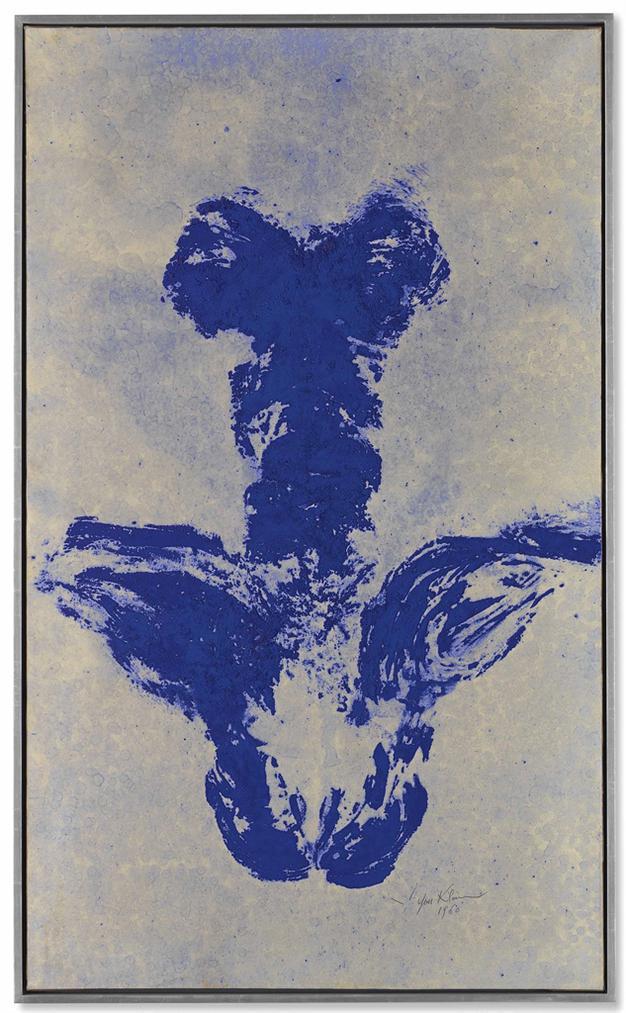 Yves Klein-Anthropometrie Sans Titre, (Ant 49)-1960