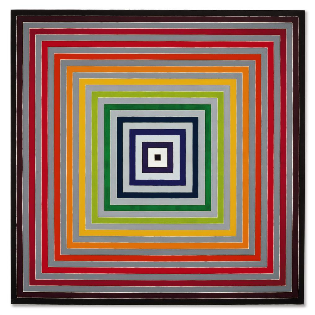 Frank Stella-Lettre Sur Les Sourds Et Muets I-1974