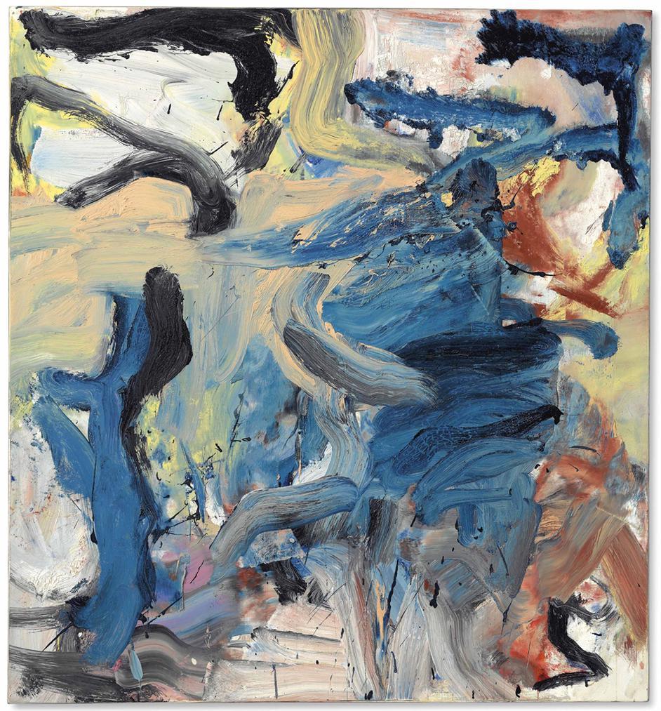 Willem de Kooning-Untitled XVIII-1976