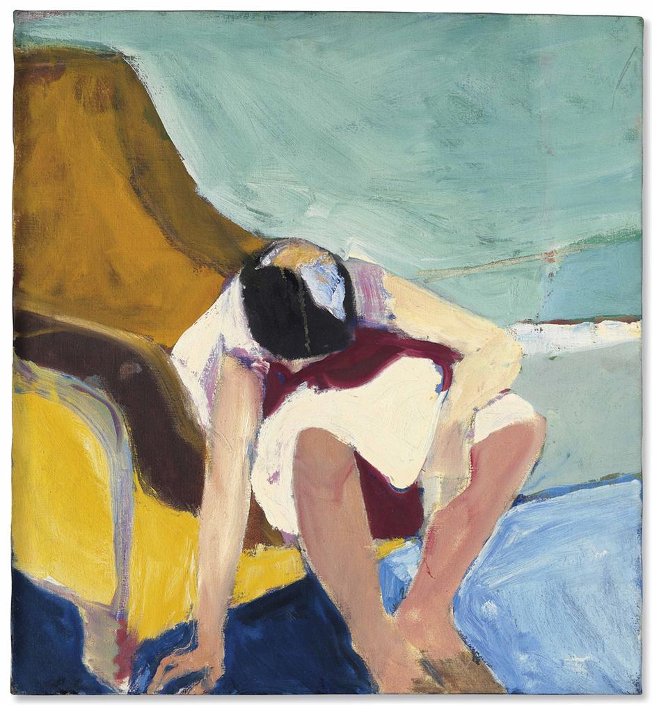 Richard Diebenkorn-Untitled-1964