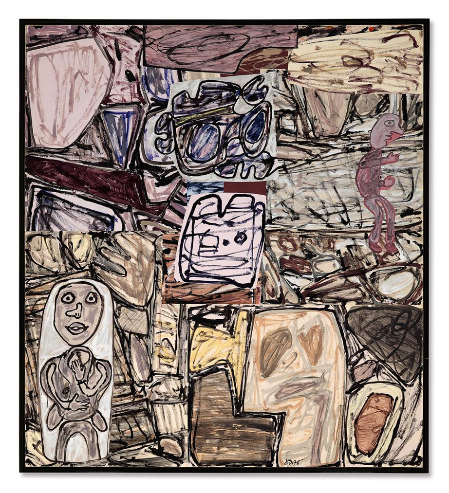 Jean Dubuffet-Secreter Son Habitat-1976
