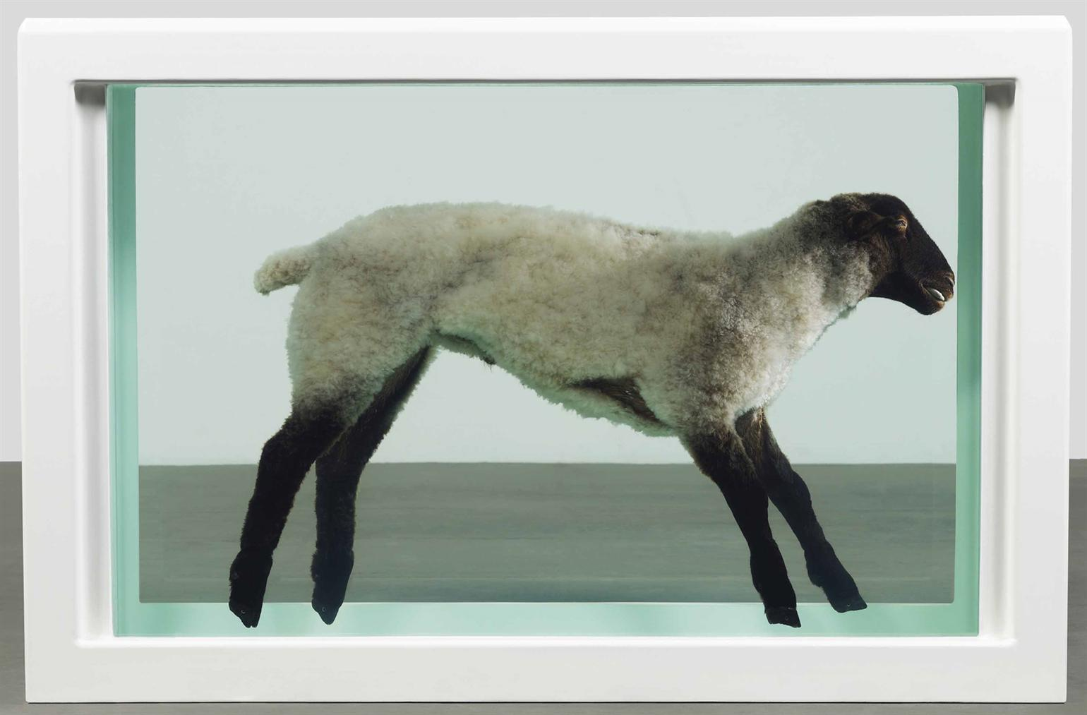 Damien Hirst-Away From The Flock-1994