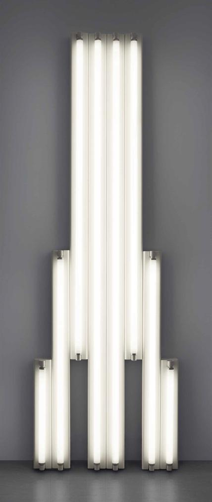 Dan Flavin-'Monument' For V Tatlin-1970