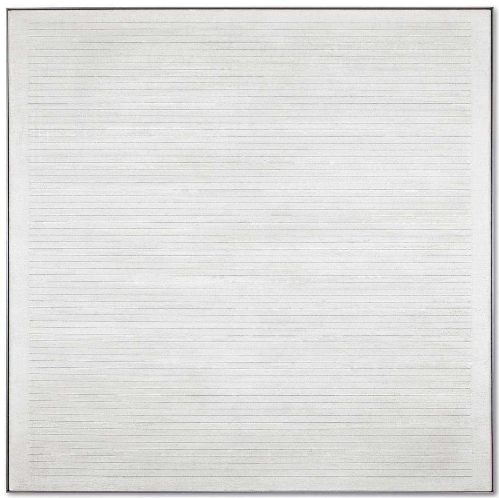 Agnes Martin-Untitled #7-1984