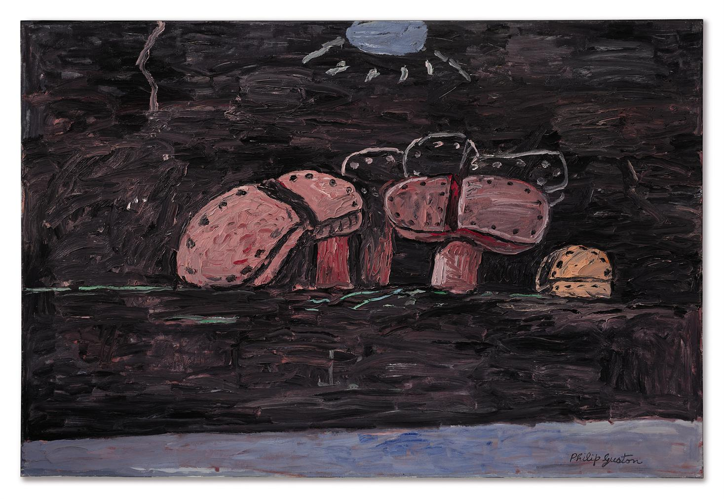 Philip Guston-Moonlight-1975