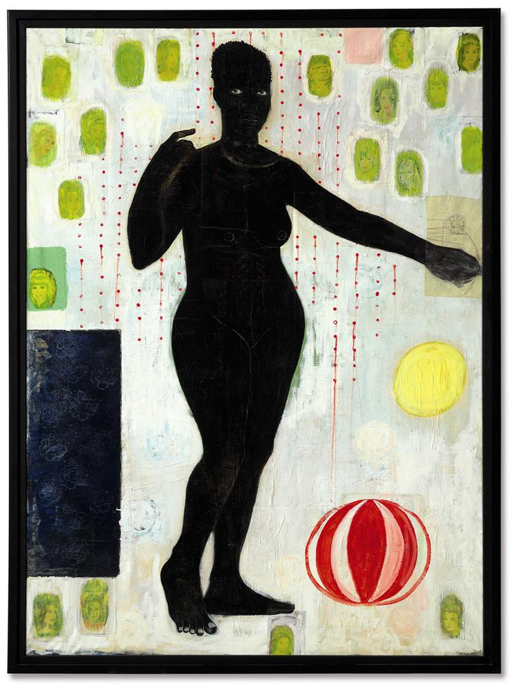 Kerry James Marshall-You Must Suffer If You Want To Be Beautiful-1991