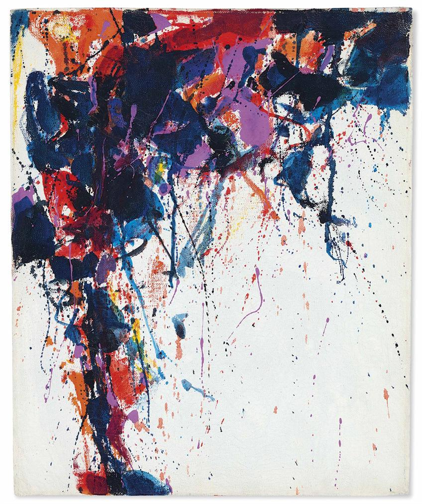 Sam Francis-Untitled-1958