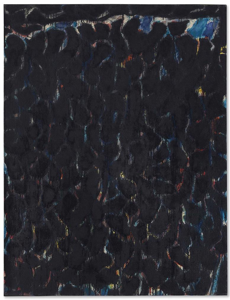 Sam Francis-Black And Red-1954