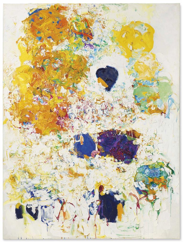 Joan Mitchell-Blueberry-1969