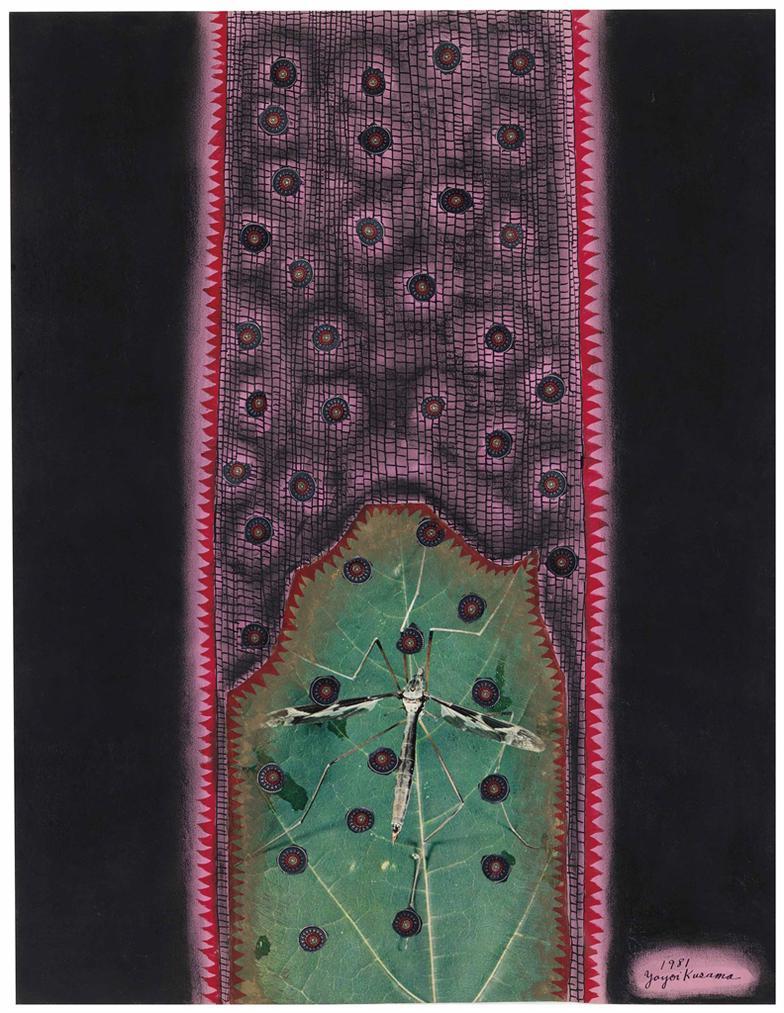 Yayoi Kusama-The Spirit Of Insect-1981