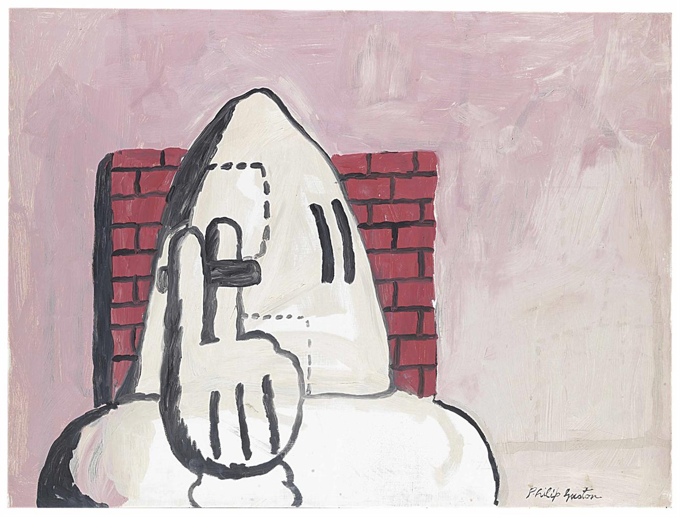 Philip Guston-Alone-1969