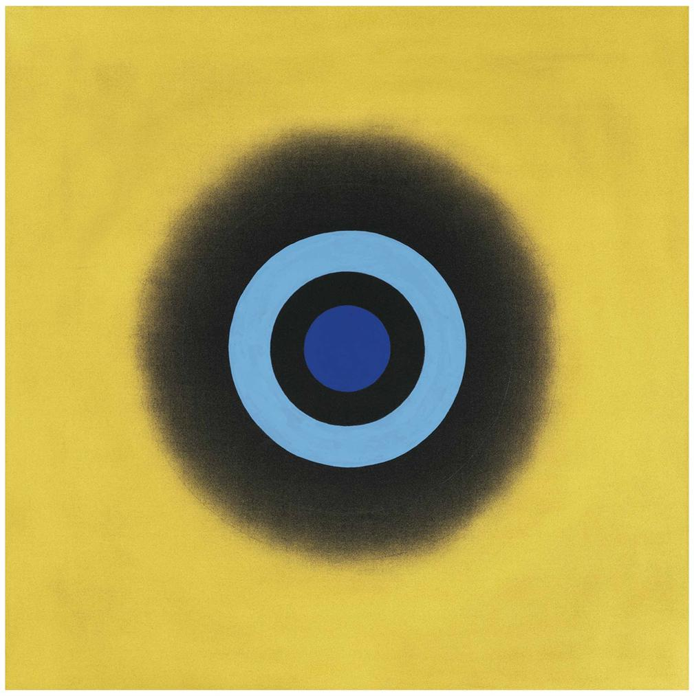 Kenneth Noland-Mysteries: Oro-2000