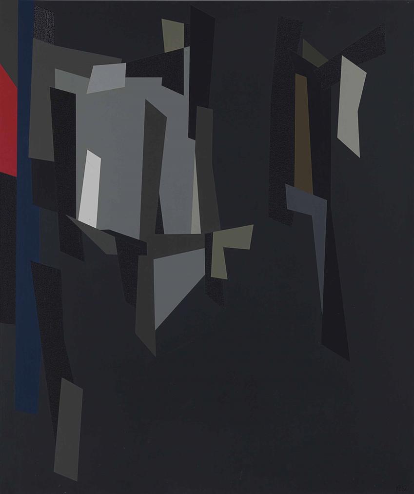 Karl Stanley Benjamin-Fs #10-1962