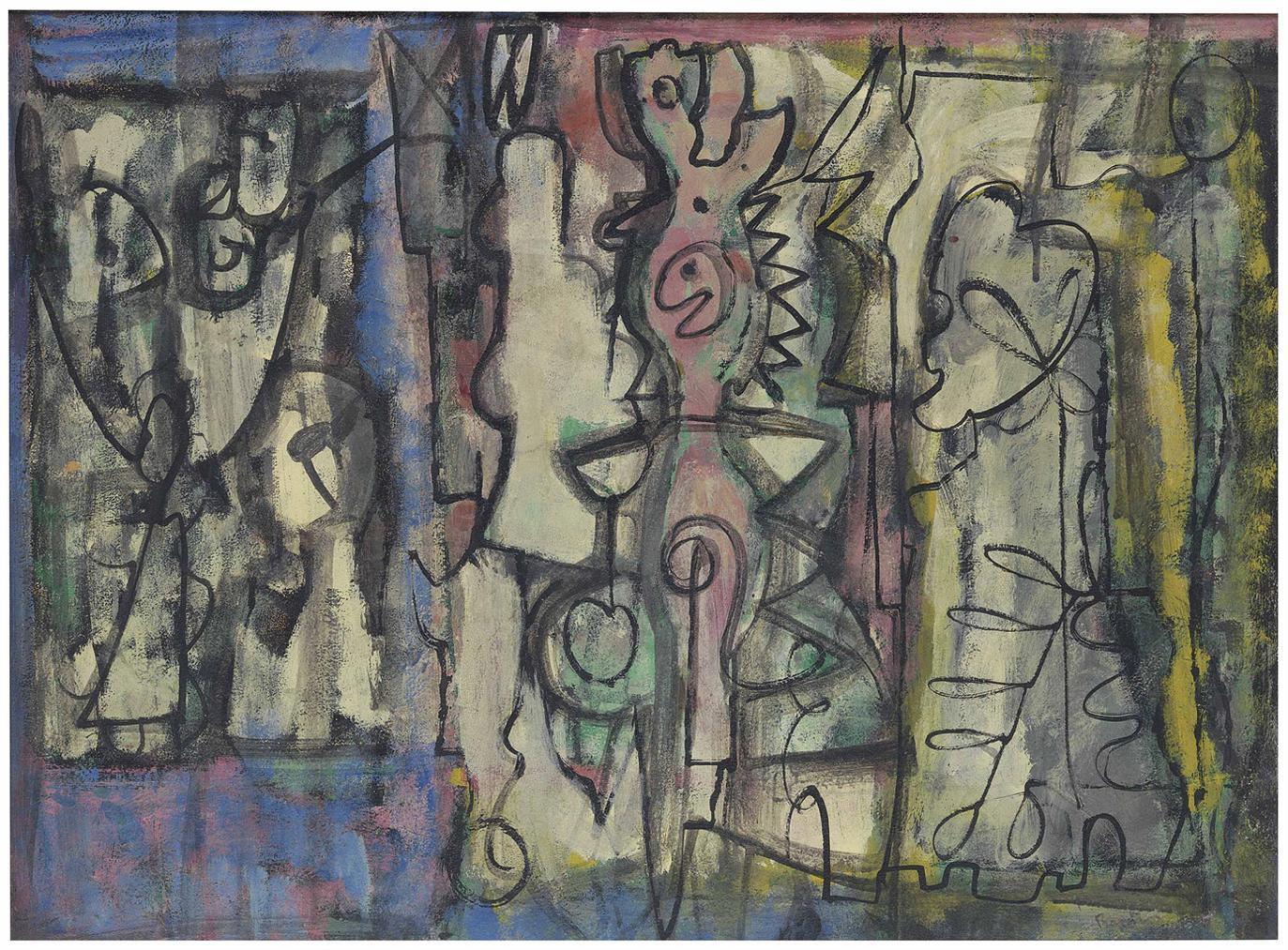 William Baziotes-Untitled-1945