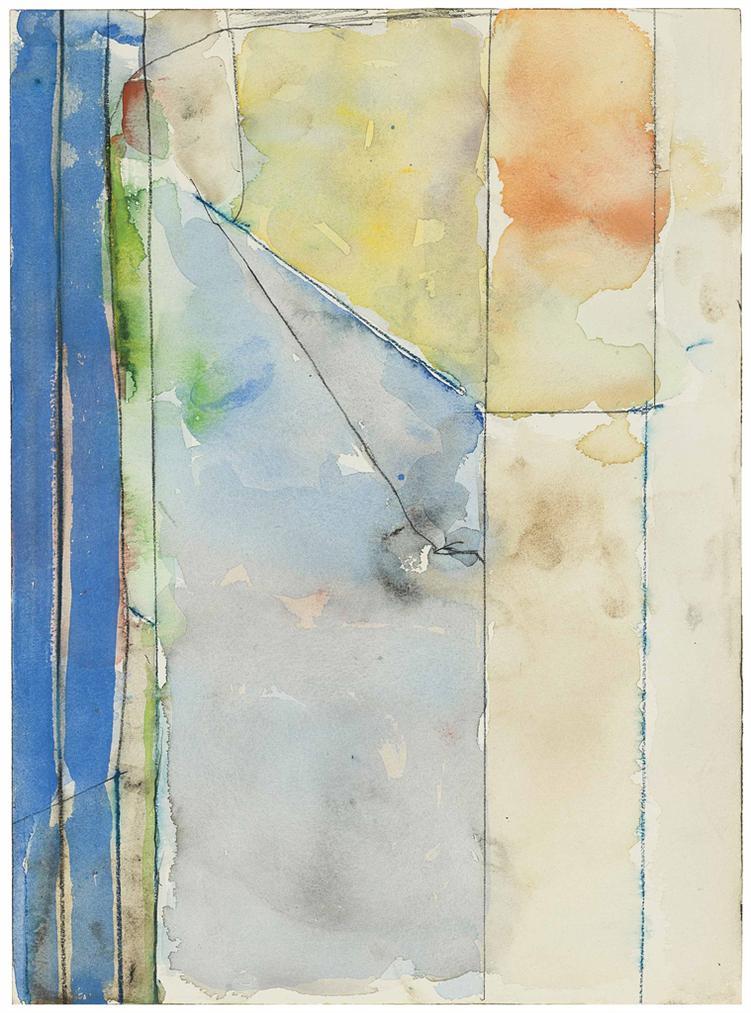 Richard Diebenkorn-Untitled-1992