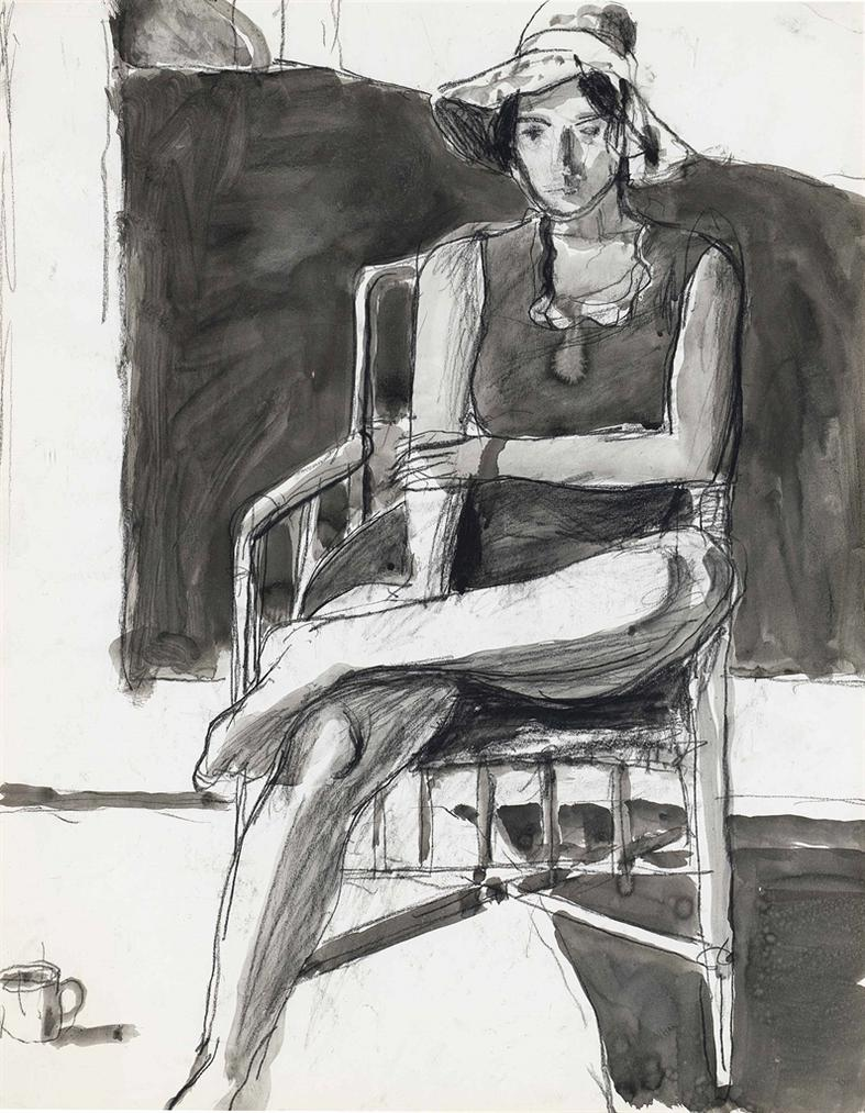 Richard Diebenkorn-Untitled-1967