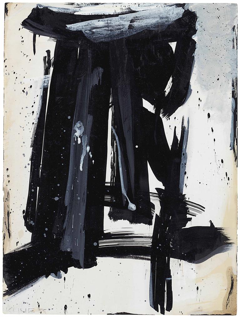 Franz Kline-Study For Shaft-1955