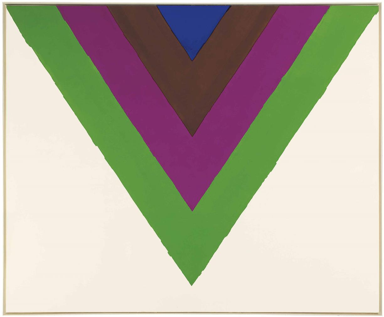Kenneth Noland-Across-1964