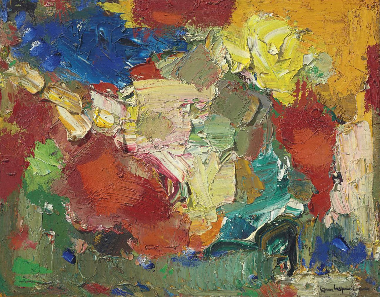 Hans Hofmann-Symphony In The Sky-1960