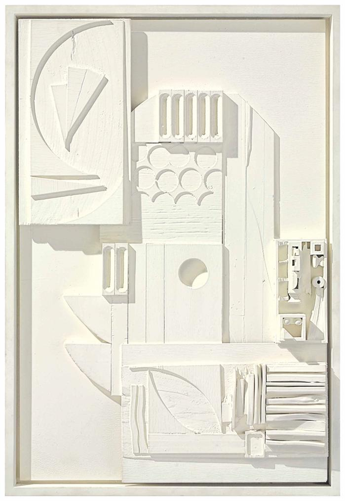 Louise Nevelson-Dawns Landscape Xvi-1975