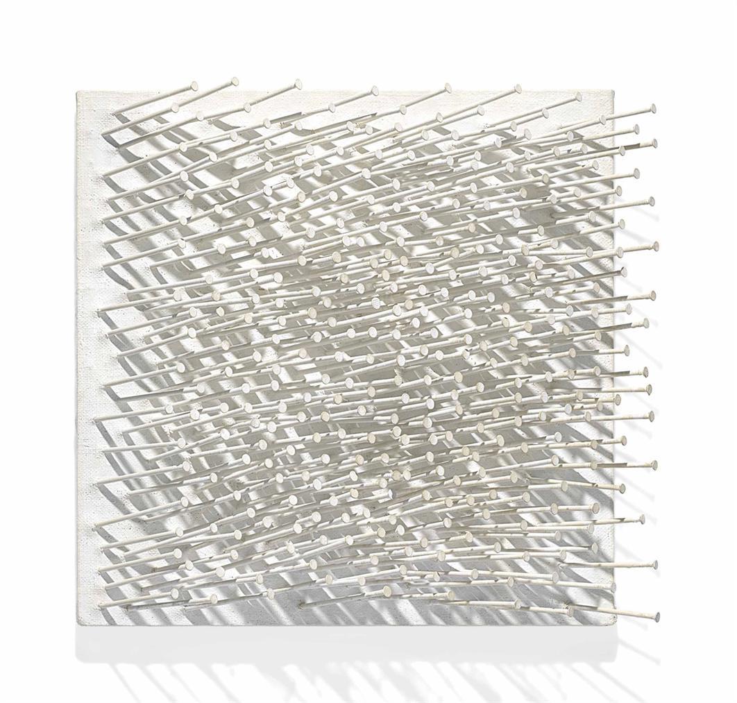 Gunther Uecker-Structure Field-1962