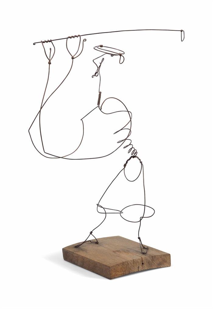Alexander Calder-The Golfer (John D. Rockefeller)-1927