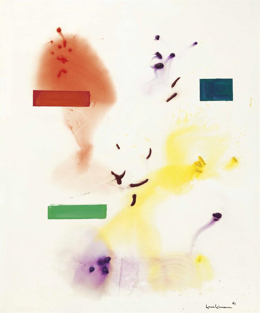 Hans Hofmann-Frolicking-1965