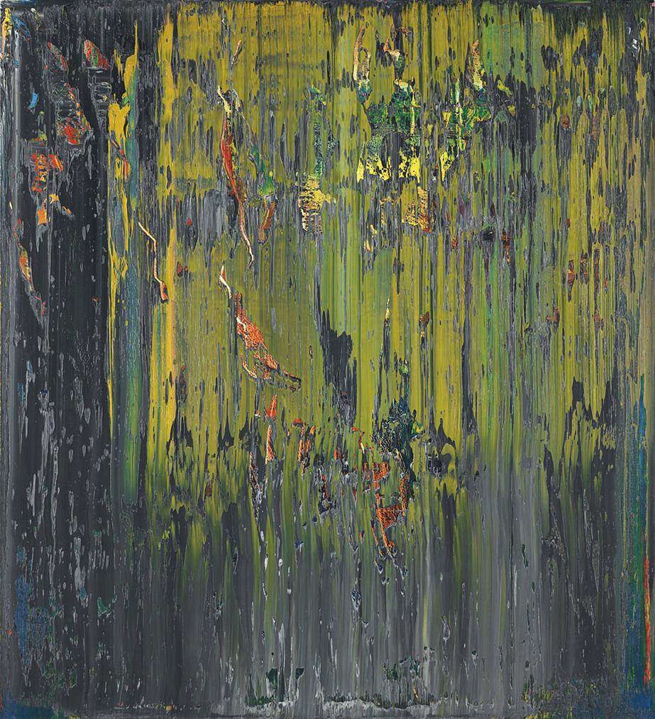 Gerhard Richter-Abstraktes Bild (678-2)-1988