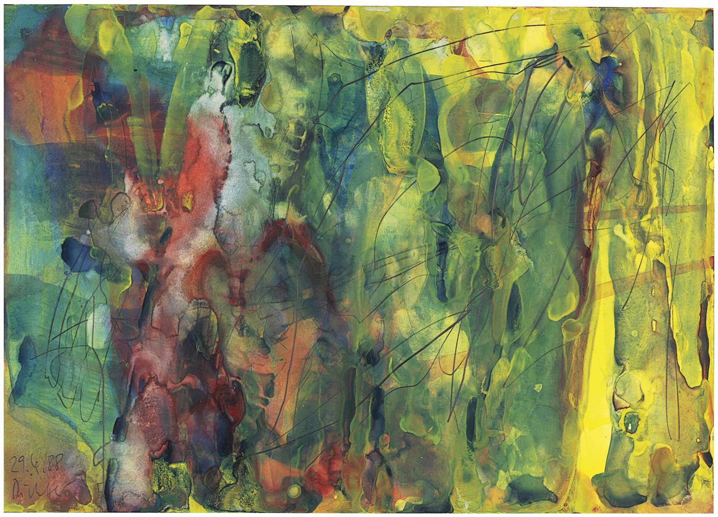 Gerhard Richter-29.4.88-1988