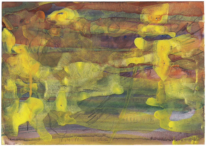 Gerhard Richter-18.4.88-1988