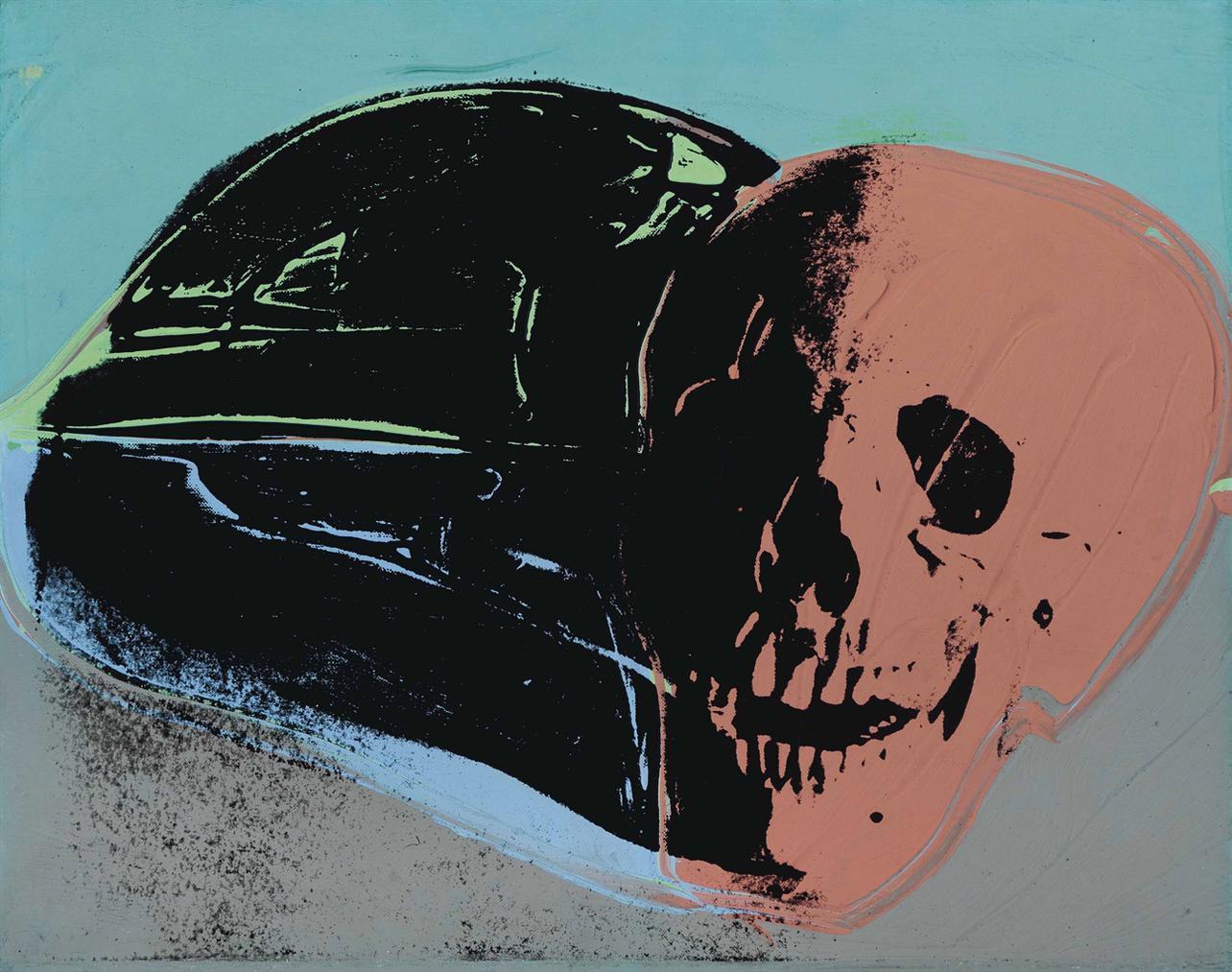Andy Warhol-Skull-1977