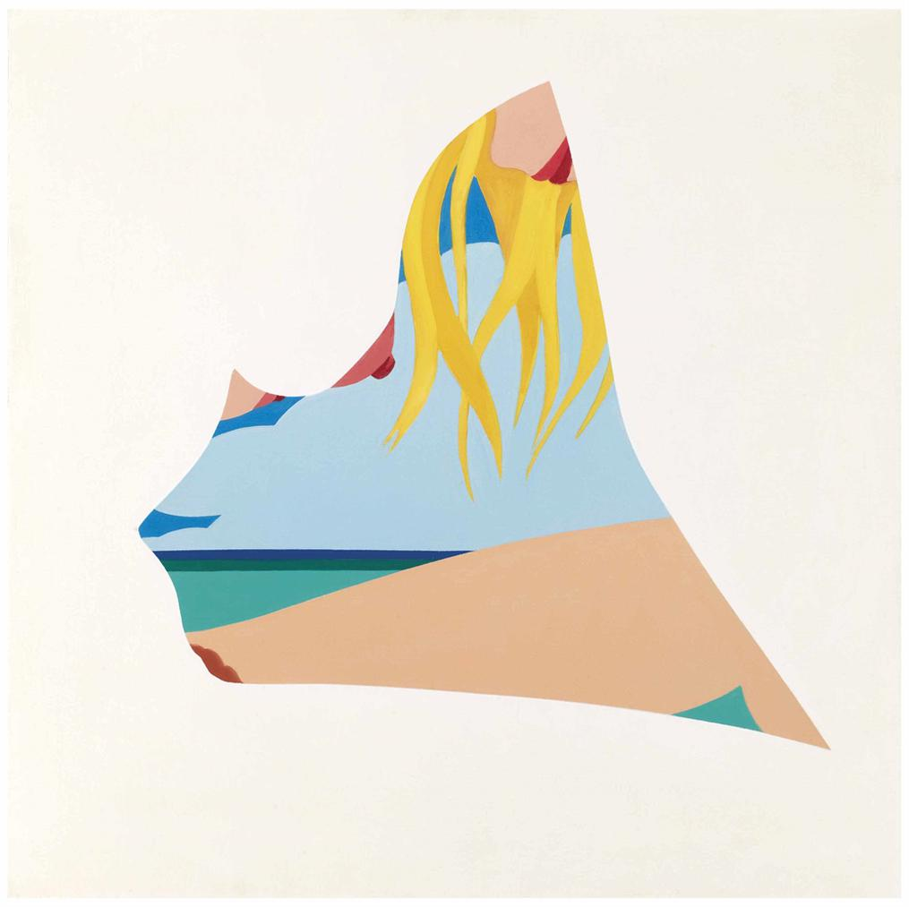 Tom Wesselmann-Study For Seascape Drop-Out-1981