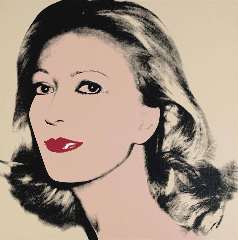 Andy Warhol-Lilo Fink-1980