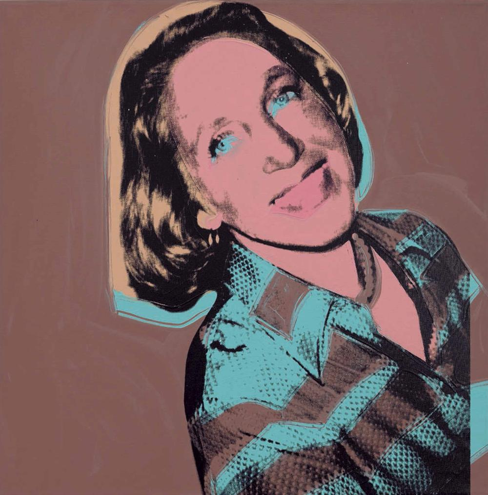Andy Warhol-Jane Lang-1976
