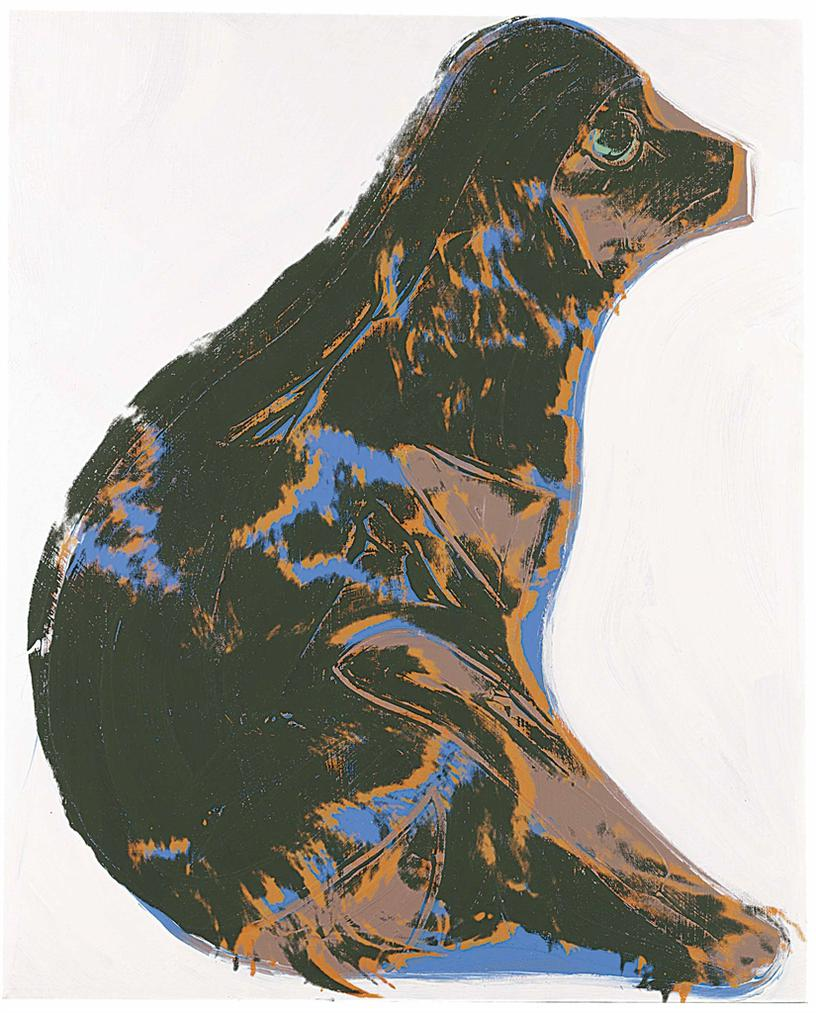 Andy Warhol-Cats And Dogs (Pom)-1976