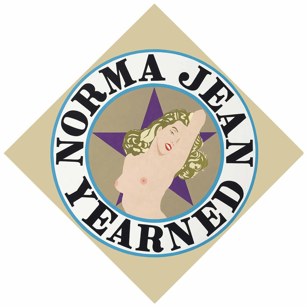 Robert Indiana-Norma Jean Yearned-2000