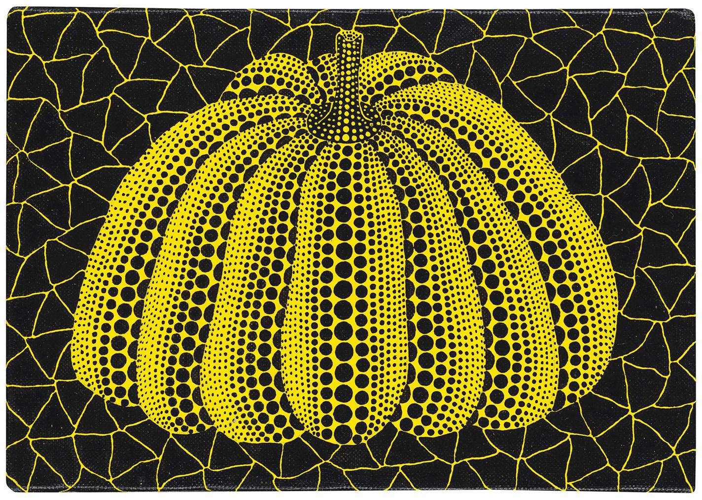 Yayoi Kusama-Pumpkin-1997