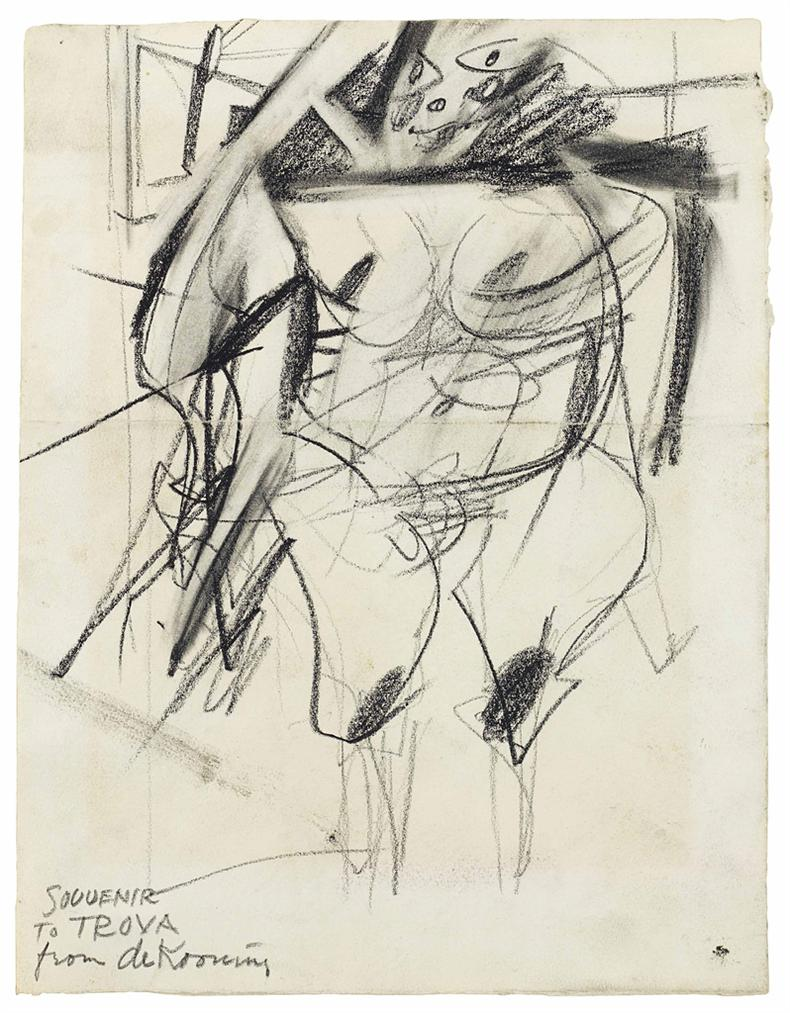 Willem de Kooning-Woman-1949