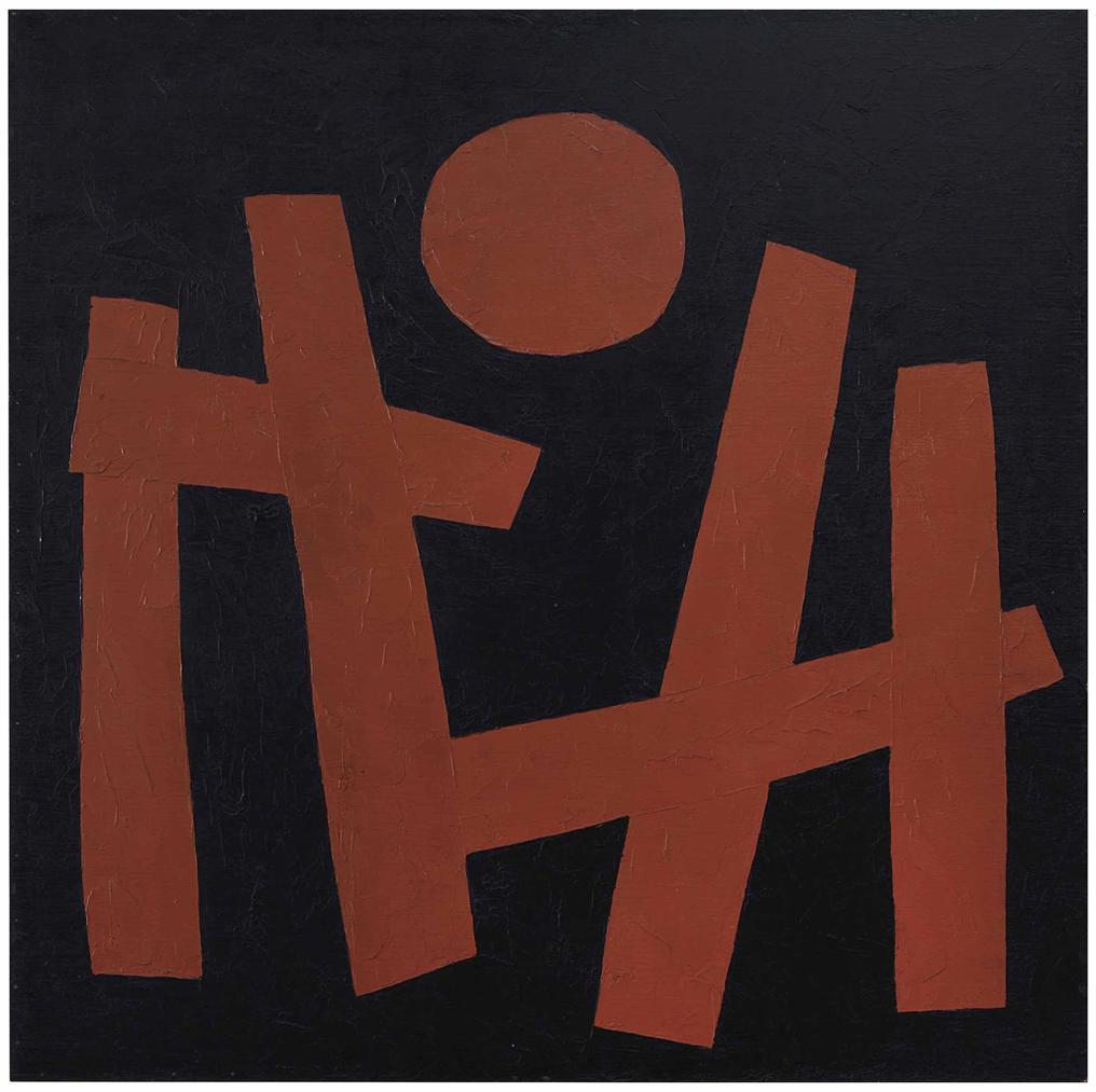 Takeo Yamaguchi-Work No. 2-1955