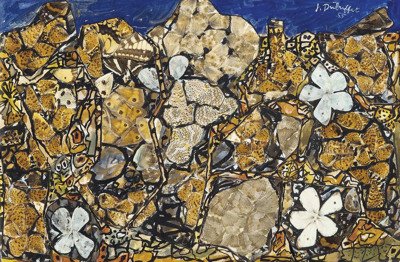Jean Dubuffet-Jardin Aux Melitees-1956
