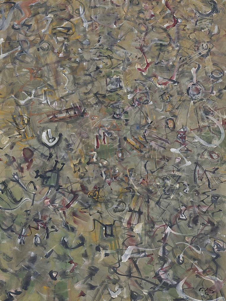Mark Tobey-Earths Circus-1956