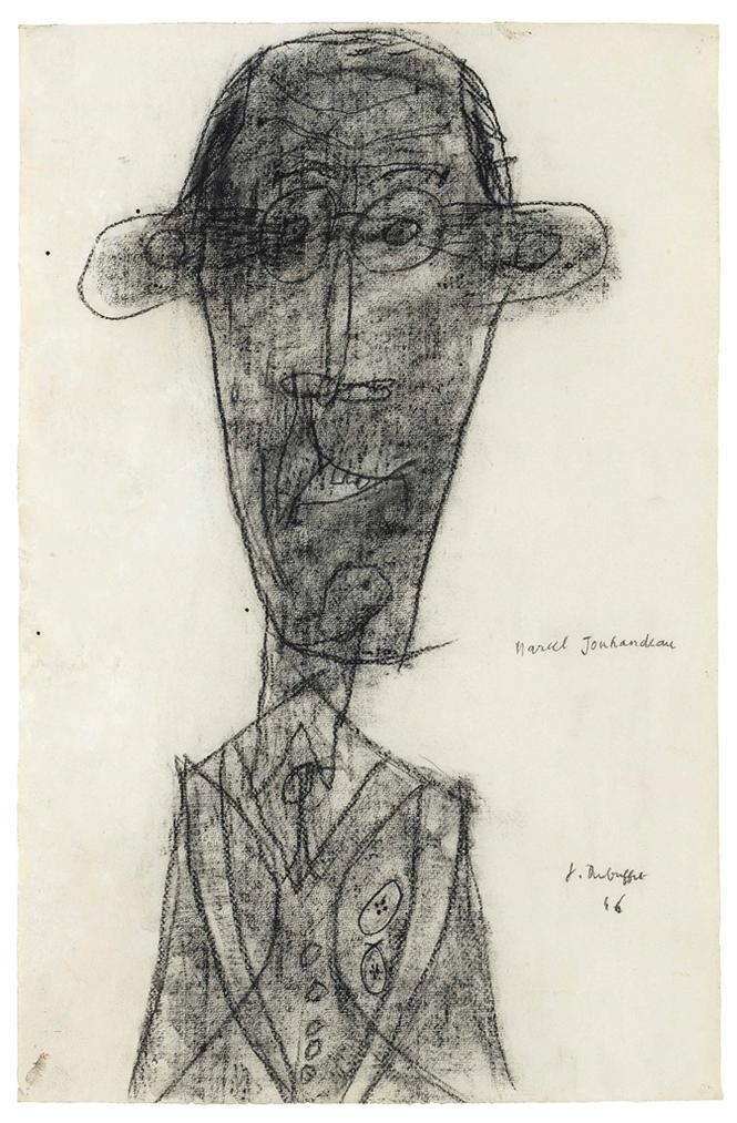Jean Dubuffet-Jouhandeau Bouc Mouflon-1946