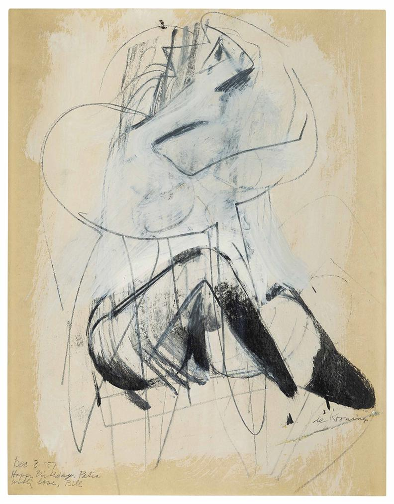Willem de Kooning-Untitled-1950