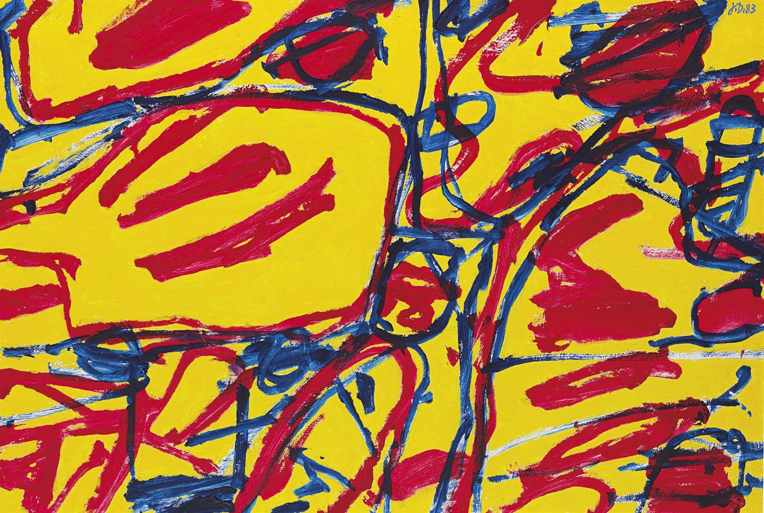 Jean Dubuffet-Mire G 33 (Kowloon)-1983