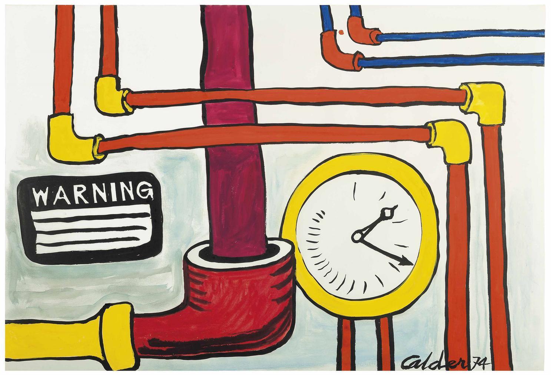 Alexander Calder-Warning-1974