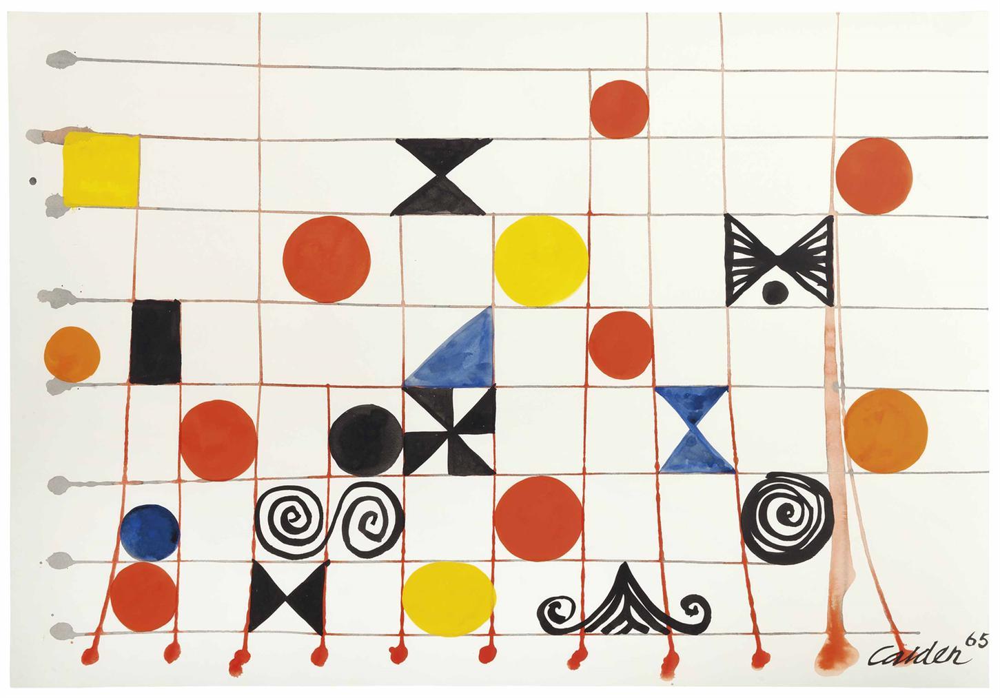 Alexander Calder-Boxed-1965
